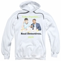 Psych pull-over hoodie Take Out adult white
