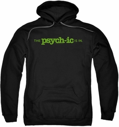 Psych pull-over hoodie The Psychic Is In adult black
