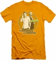 Psych slim-fit t-shirt The Boys mens gold