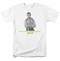 Psych t-shirt 24 7 mens white