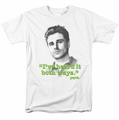 Psych t-shirt Both Ways mens white