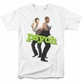 Psych t-shirt Hands Up mens white