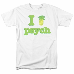 Psych t-shirt I Like Psych mens white