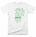 Psych t-shirt Pineapple mens white