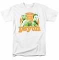 Psych t-shirt Predictable mens white