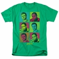 Psych t-shirt Squared mens kelly green
