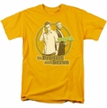 Psych t-shirt The Boys mens gold