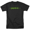 Psych t-shirt The Psychic Is In mens black