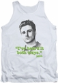 Psych tank top Both Ways mens white