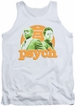 Psych tank top Predictable mens white
