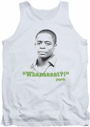 Psych tank top Whaaaaaat mens white