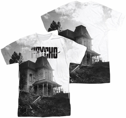 Psycho mens full sublimation t-shirt Bates House