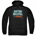 Psycho pull-over hoodie Bates Motel adult black
