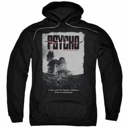Psycho pull-over hoodie House Poster adult black