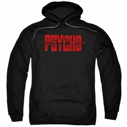 Psycho pull-over hoodie Logo adult black