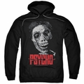 Psycho pull-over hoodie Mother adult black