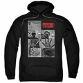 Psycho pull-over hoodie Shower Scene adult black