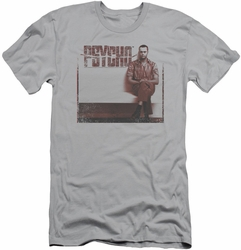 Psycho slim-fit t-shirt A True Psycho mens silver