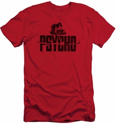 Psycho slim-fit t-shirt House On The Hill mens red