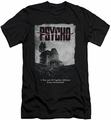 Psycho slim-fit t-shirt House Poster mens black