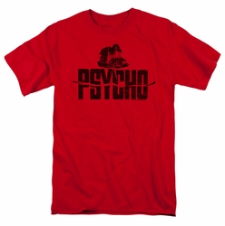 Psycho t-shirt House On The Hill mens red