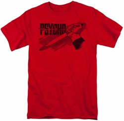 Psycho t-shirt Knife mens red