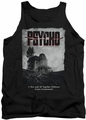 Psycho tank top House Poster mens black
