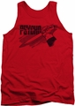 Psycho tank top Knife mens red