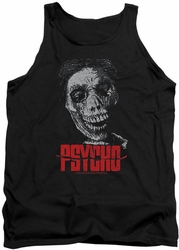 Psycho tank top Mother mens black