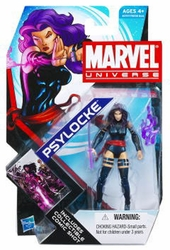 Psylocke action figure Marvel Universe Series 4 #05