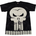 Punisher Costume Skull Vest All-Over print t-shirt men black XXL