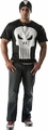 Punisher T-shirt and headpiece adult costume