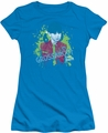 Punky Brewster juniors t-shirt Grossaroo! turquoise