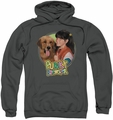 Punky Brewster pull-over hoodie Punky & Brandon adult charcoal