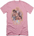 Punky Brewster slim-fit t-shirt Distressed mens pink