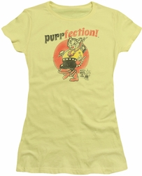 Puss N Boots juniors t-shirt Purrfection banana