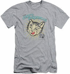 Puss N Boots slim-fit t-shirt Cats Pajamas mens heather