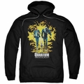Quantum And Woody pull-over hoodie Explosion adult black