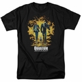 Quantum And Woody t-shirt Explosion mens black