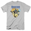 Quantum And Woody t-shirt Three's A Crowd mens silver