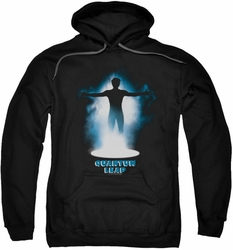 Quantum Leap pull-over hoodie First Jump adult black