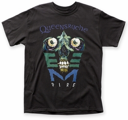 Queensryche Empire adult tee black mens pre-order