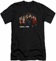 Queer As Folk slim-fit t-shirt Title mens black