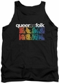Queer As Folk tank top Cast mens black