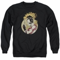 Rai adult crewneck sweatshirt Japanese Print black