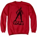 Rai adult crewneck sweatshirt Silhouette red