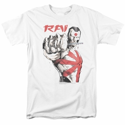 Rai t-shirt Sword Drawn mens white