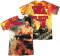 Rambo First Blood mens full sublimation t-shirt Become War