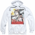 Rambo First Blood pull-over hoodie They Drew Collage adult white