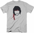 Rambo First Blood t-shirt Hair mens silver